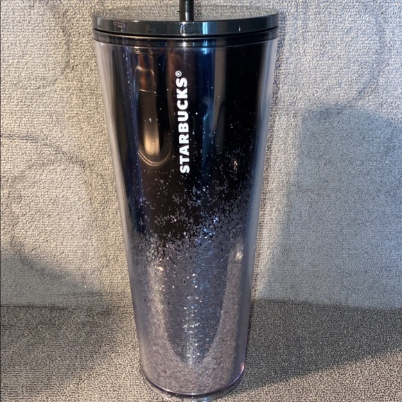 Sparkle Starbucks Cold Tumbler